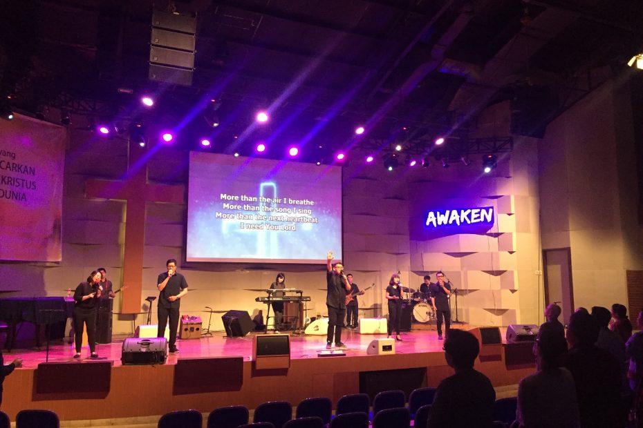 Wave Auditorium Gamaliel Bandung